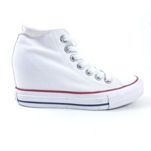 Converse Womens Chuck Taylor Lux Wedge Mid Sneaker